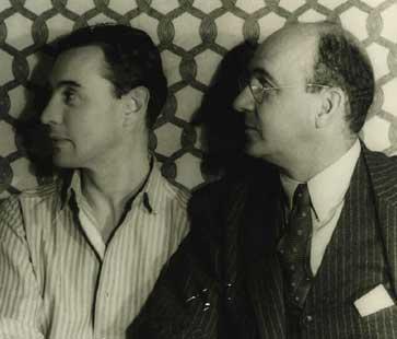 Witter Bynner and Robert Hunt