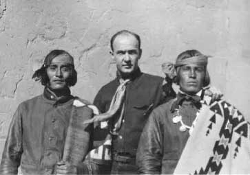 Witter Bynner and Navajo Indians of Santa Fe